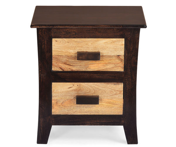 Edge Night Stand - @home by Nilkamal,  walnut