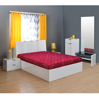 Horizon 5 Bonnell Spring Mattress - @home By Nilkamal, 72x48x5,  maroon