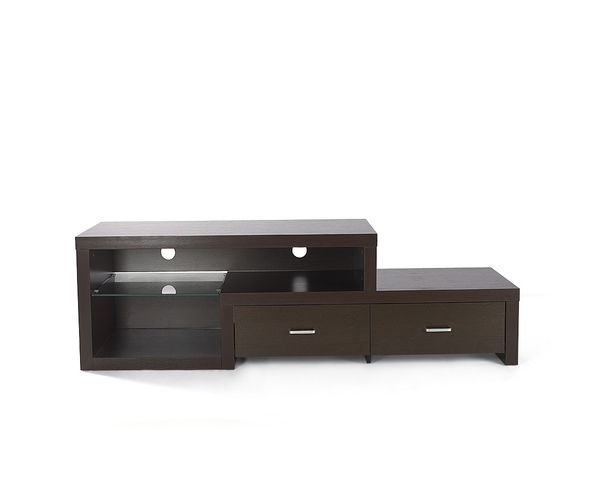 Wall Unit Fortune AV - @home Nilkamal,  dark walnut