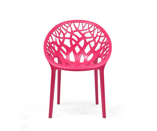 Nilkamal Crystal PP Chair - Pink