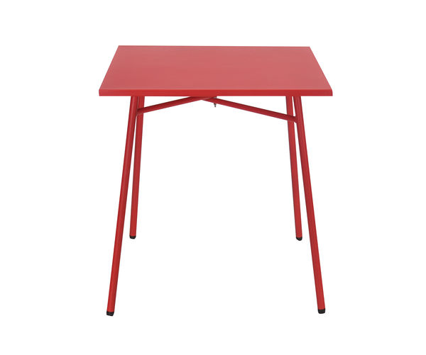 Berry Garden Table- @home By Nilkamal, Red