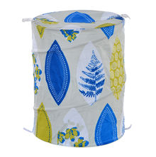 Floral Laundry Bag - @home By Nilkamal, Blue