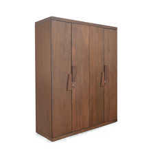 Everest 4 Door Wardrobe - @home Nilkamal,  brown