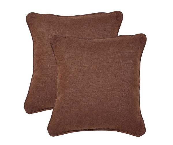 16 x16  Bliss Set of 2 Cushion Covers - @home Nilkamal,  beige