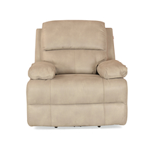 Oriel 1 Seater Sofa with Electric Recliner - @home by Nilkamal, Stone Beige