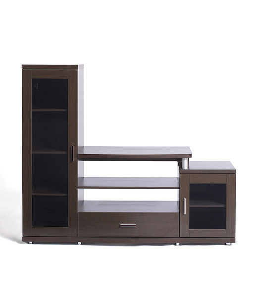 Roger Wall Unit - @home by Nilkamal - Walnut Brown,  dark walnut