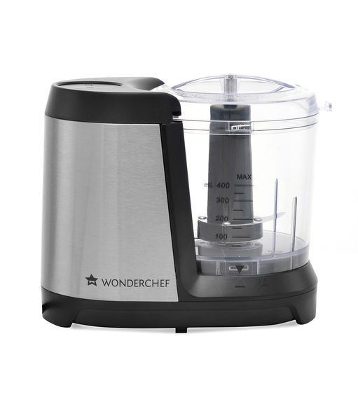 Wonderchef Jumbo Chopper - Silver & Black