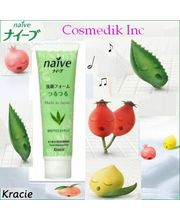 KRACIE JAPAN NAIVE ALOE VERA FOAMING FACE WASH - Premium Face Care-Made In Japan