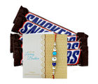 Ferns N Petals Snickers Chocolates And Express Rakhi