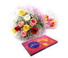 Ferns N Petals Celebrations With Roses - Rose Day