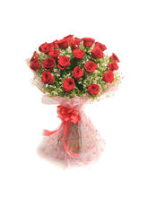 Ferns N Petals Rosy Romance-Rose Day