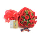 Ferns N Petals Express Rakhi Roses N Chocolates