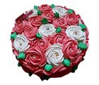 Ferns N Petals Mothers Day Half kg Swirl Roses Cake (THANECAKE30)