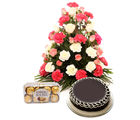 Ferns N Petals Mothers Day Bright Hues Hamper (EXDFNP2039)
