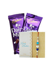 Ferns N Petals Dairy Milk & Express Rakhi Wishes
