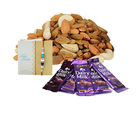 Ferns N Petals Dryfruits & Chocolates With Express Rakhi