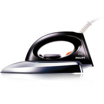 Philips GC85 750 Watts Dry Iron (Metal With Black)