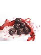 THF Chocolate Roses-Pack Of 6