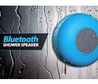 Qubeplex Bluetooth Wireless Waterproof Shower Speaker (H38), blue