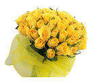 India Gifts Hub Yellow Roses Bouquet 30 Flowers (IGHFLOW005)