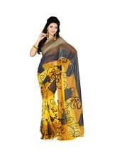Styloce Georgette Printed Casual Saree (STY-8797), multicolor