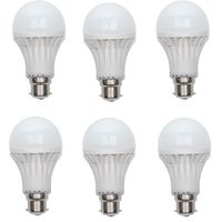 8W LED Bulb 6 Piece COMBO Offer