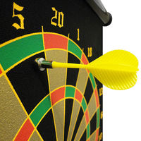Dart Board Game With 6 Magnetic Darts Roll-up Magnetic Dart Board
