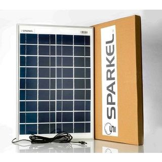 Sparkel 20W Solar Panel (With Five Meter Long Wire)