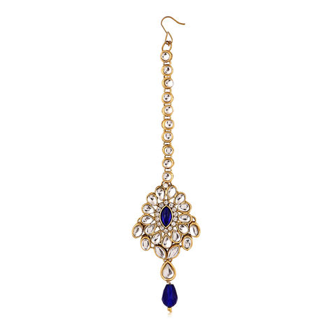 Sukkhi Attractive Gold Plated AD Mangtikka For Women