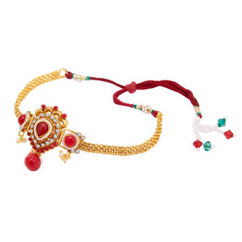 Sukkhi Appealing Gold Plated Bajuband For Women