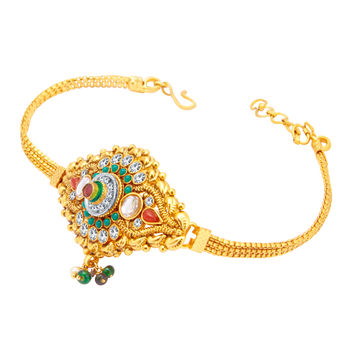 Sukkhi Marvellous Gold Plated Bajuband For Women