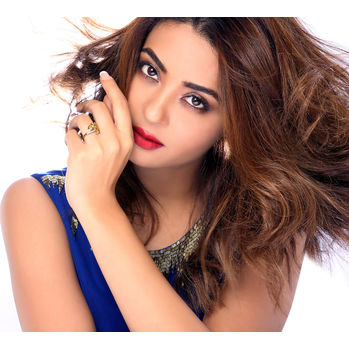Sukkhi Surveen Chawla Collections Ravishing Gold and Rhodium Plated CZ Ring, 13