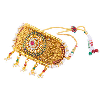 Sukkhi Incredible Gold Plated Bajuband For Women
