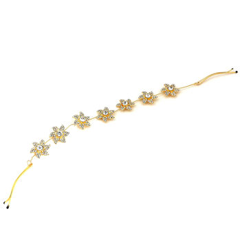 Sukkhi Designer Gold Plated Hair Accessory For Women