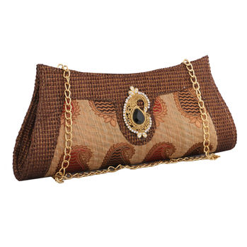 Sukkhi One-of-a-kind Vintage Embellished Clutch Handbag