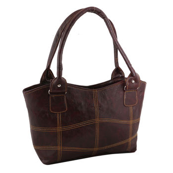 Sukkhi Must-Have Multipurpose Brown Shoulder Handbag