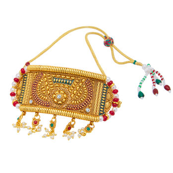 Sukkhi Sparkling Gold Plated Bajuband For Women