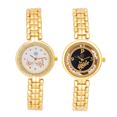 Shostopper Vintage Collection Combo Watches for Womens SJ178WCB