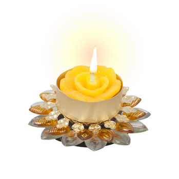 Sukkhi Best-Selling Diya Candle in Bright Yellow