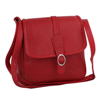 Sukkhi Fashionable and Functional Red Sling Bag