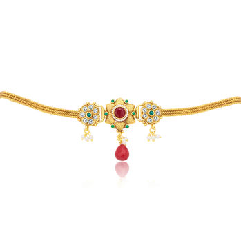 Sukkhi Modish Gold Plated KamarBand For Women