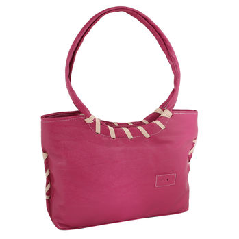 Sukkhi Pink Stylish Shoulder Handbag