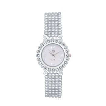 Shostopper Marvellous White Dial Analogue Watch For Women - SJ62030WW