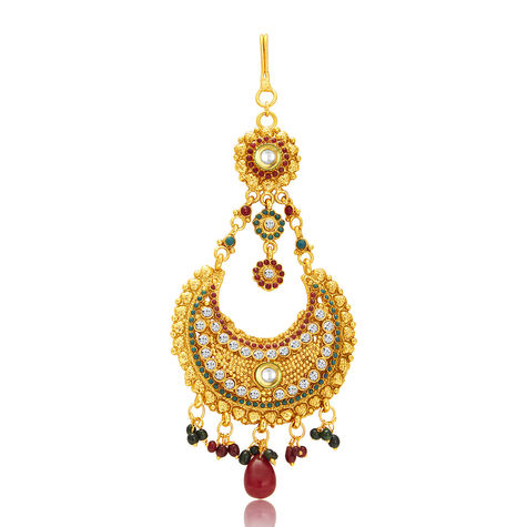 Sukkhi Charming Gold Plated Passa For Women