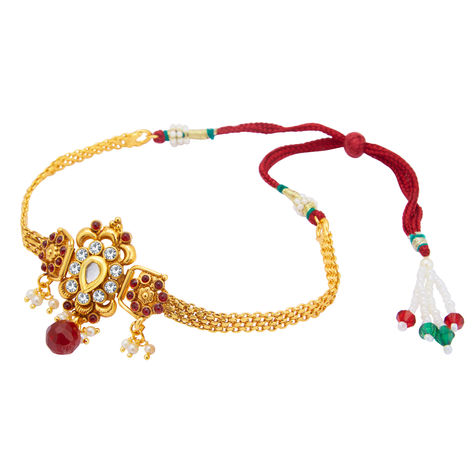 Sukkhi Sublime Gold Plated Bajuband For Women