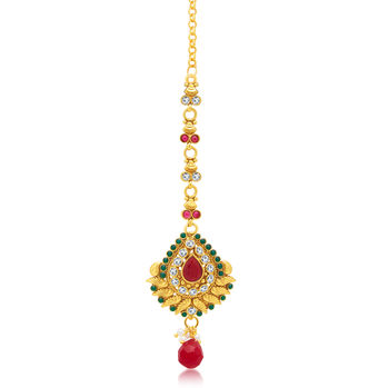 Sukkhi Cluster Gold Plated Mangtikka For Women
