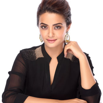 Sukkhi Surveen Chawla Collections Luxurious Gold and Rhodium Plated Cubic Zirconia Earrings