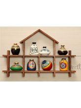 Wooden Sheesham Wall Decor Frame 7HS With Out Pots...