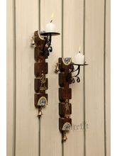 Aakriti Arts Candle Holder Wall Mounted With Candl...