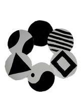 Namrin Black & White Coasters